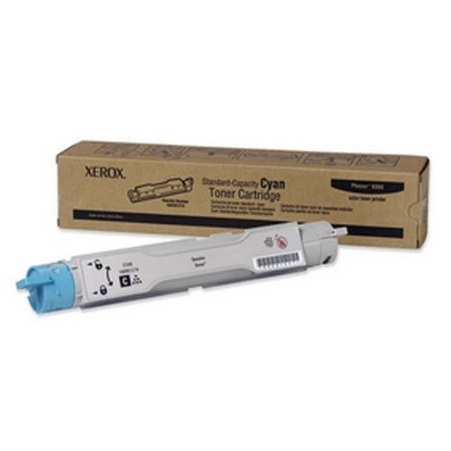 NEW Standard Capacity Cyan Toner Cartridge for Phaser 6360 Color Printer (Computer) by Xerox