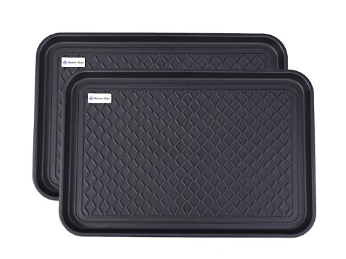 Home-Man Multi-Purpose Boot Tray Mat,Shoe Tray Mat,Pet Bowl Tray,Waterproof Trays for Indoor and Outdoor Floor Protection, 24