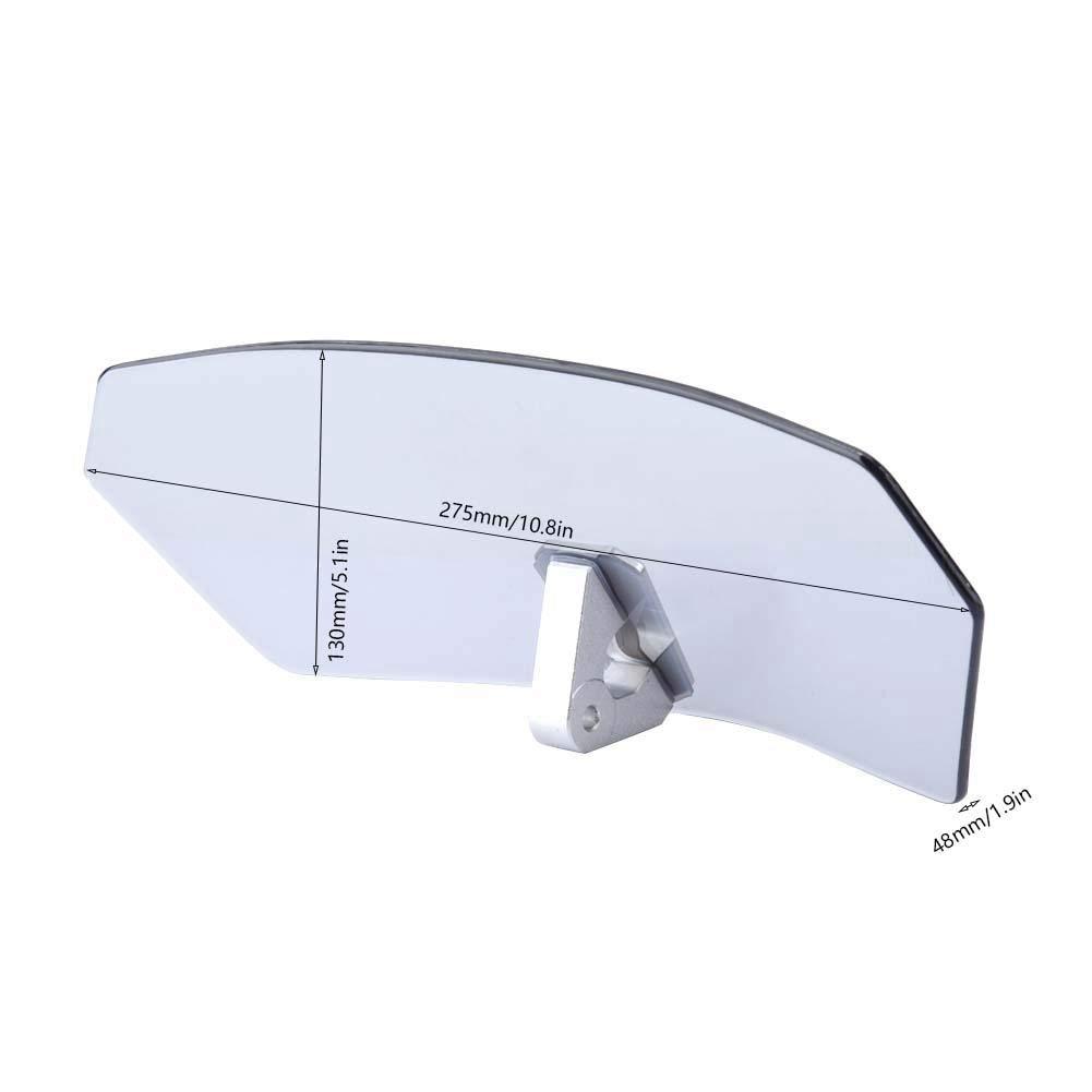 + Aleaci/ón de Aluminio Tawny Parabrisas Ajustables para Motocicletas Universales//Deflector de Viento//Parabrisas Parabrisas moto Vidrio ABS