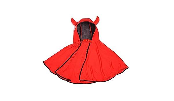 shafier Capa de Halloween del Diablo para Infantil niños y niñas ...