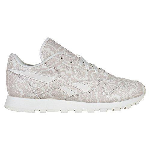 Reebok Lthr Sneaker Beige Cl Snake RxxqdA