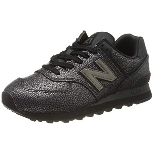 chollos oferta descuentos barato New Balance 574v2 Zapatillas para Mujer Negro Black Soh 35 EU