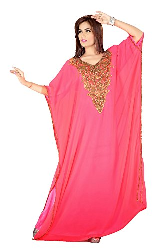 PalasFashion Long Femmes KKPF17091 Caftan brodé