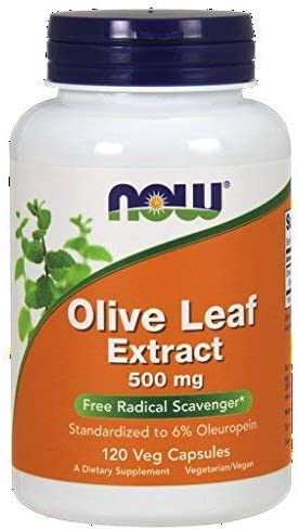 Olive Leaf Extract 500mg 120 VegiCaps Pack of 2