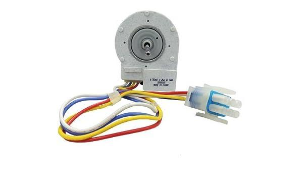 Supco SM10185 Motor de ventilador de evaporador para congelador ...