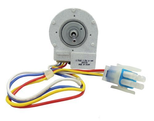 Supco SM10185 Freezer Evaporator Fan Motor, Replaces GE WR60X10185 by Supco