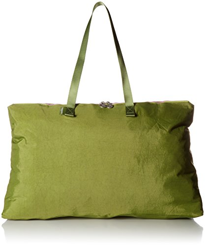 Baggallini Foldable Travel Tote, Green/Kiwi