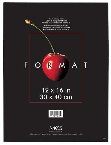 MCS 12x16 Inch Format Frame, Black