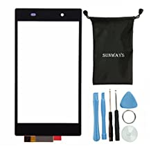 Sunways Phoen Parts Replacement Touch Screen Assembly For Sony Xperia Z1 L39h C6902 C6903 c6906 C6943 With Free Tools (No LCD)