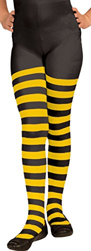 Forum Child Bumble Bee Tights, Medium, Yellow/Black