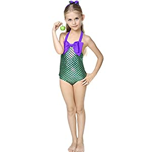 Amazon.com: Little Girls swimsuits for girl one piece