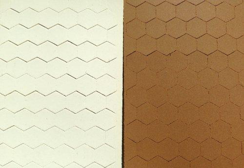 Cabinet Door Bumper Pads Sheet of 220 Brown