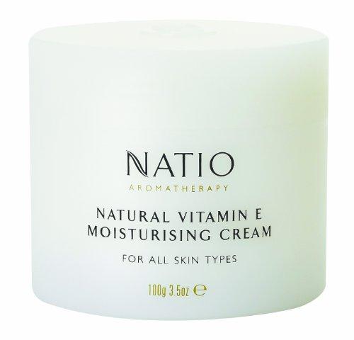 Natio Aromatherapy Natural Vitamin E Moisturising Cream for All Skin Types