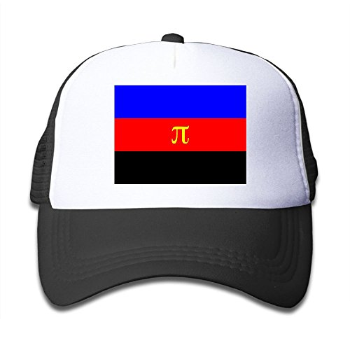 hot Futong Huaxia Flag Of PI. Boy & Girl Grid Baseball Caps Adjustable sunshade Hat For Children