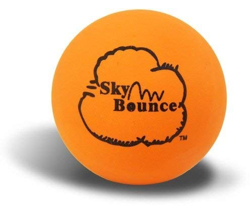 Sky Bounce Color Rubber Handballs for Recreational Handball, Stickball, Racquetball, Catch, Fetch, and Many More Games, 2 1/4-Inch, Orange, 12 Count