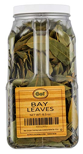Gel Spice Turkish Bay Leaves ,Commercial Kitchen Size - 8.5 ()