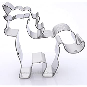 Small Unicorn Cookie Cutter - Stainless Steel