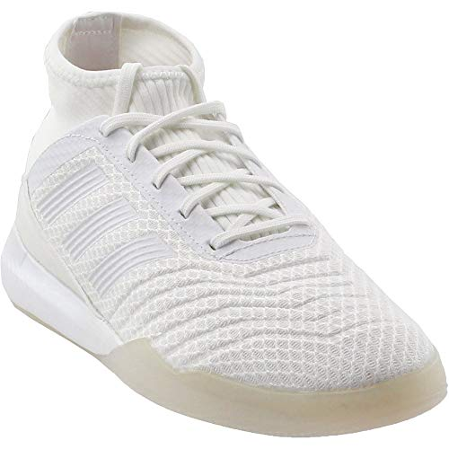 adidas Men's Football Predator Tango 18.3 TR Shoes,white/core black/real coral,6.5 M US