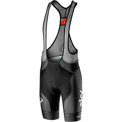 Free Bib Short - Castelli Team Sky Free Aero Race 4 Bibshort - Men's Black, L
