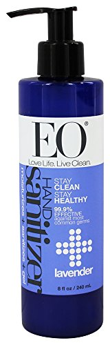 Hand Sanitizer Jao (EO Botanical Hand Sanitizer Gel, Lavender, 8 Ounce)