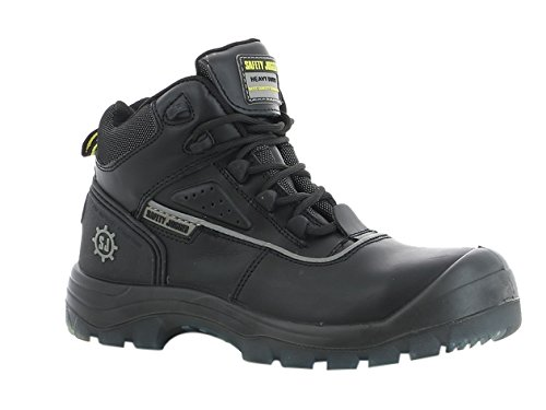 SAFETY JOGGER COSMOS Men Safety Toe Lightweight EH PR Water Resistant Mid Cut Boot, M 9, Black