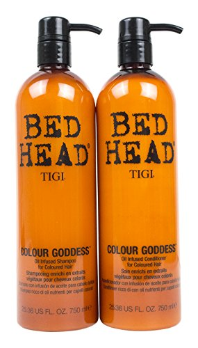 Bed Head Shampoo and Conditioner, Color Goddess, 25.36 Fluid Ounce