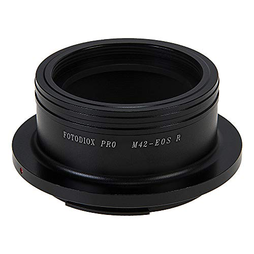 Fotodiox Pro Lens Mount Adapter Compatible with Select M42 Screw Mount SLR Lenses to Canon RF (EOS-R) Mount Mirrorless Camera Bodies