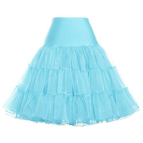 GRACE KARIN Women 53s Petticoat Skirts Tutu Crinoline Underskirt ()
