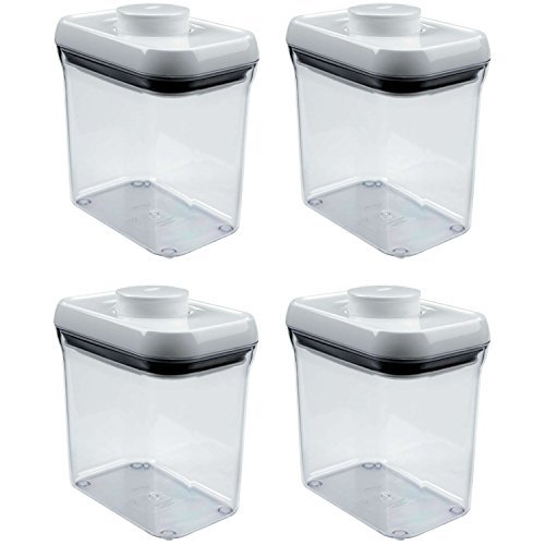 rectangle clear container - 1