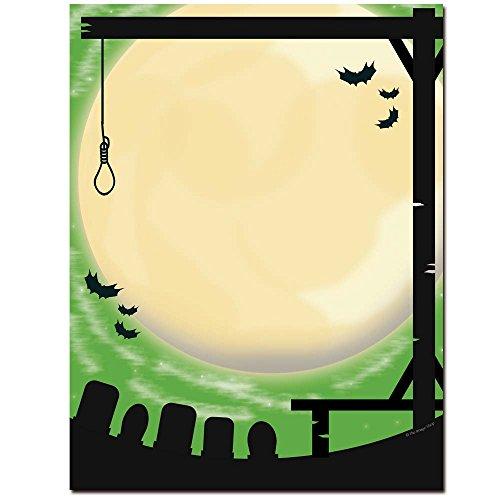 Image Shop Gallows Humor Halloween Letterhead Laser &