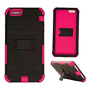 Cell Armor Novelty Case Apple Iphone 6 Plus Case Kick Stand Cover (Pink, Black) AT&T, T-Mobile, Sprint, Verizon, Boost Mobile, U.S Cellular, Cricket by Maris's Diary