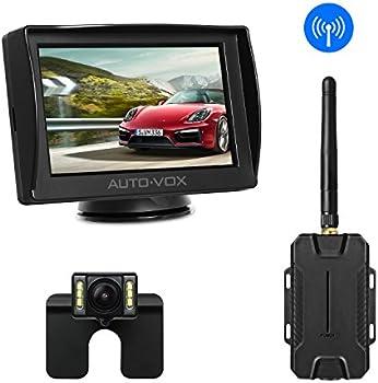 AUTO-VOX M1W 4.3'' LCD Wireless Backup Camera Kit