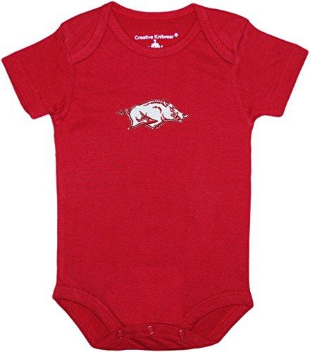 University of Arkansas Razorbacks Newborn Baby Bodysuit Cardinal 0-3 Months