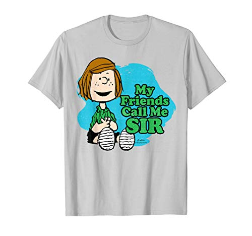 (Peanuts Peppermint Patty My Friends Call Me Sir)
