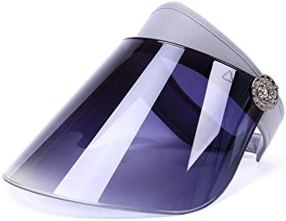 youwell 自転車 サンバイザー UVカット 率99%以上サンバイザー レディース レインハット 日避け帽子紫外線対策 UPF50+ つば広幅調節可能 フルフェイス 防水 超軽量 耐高温 化粧崩れ防止 通気性が良い...