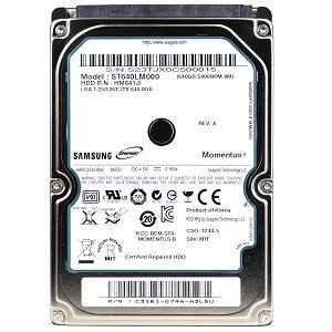 - Samsung SpinPoint HM641JI 640GB SATA/300 5400RPM 8MB 2.5