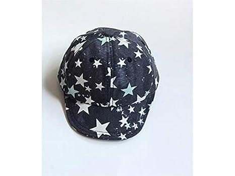 Gorra para niños pequeños Gorro infantil de patrón de estrella de tela Gorra infantil de verano de 0-3 años (gris oscuro) Sombreros del bebé: Amazon.es: ...