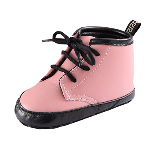 Infan (Lace Up Pink Boots)