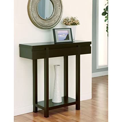 amazon com hallway table holme red cocoa sofa table end table
