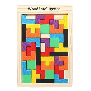AmigozZ Wooden Tetris Jigsaw Puzzle...
