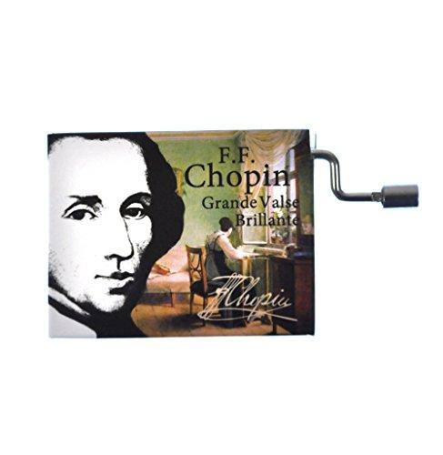 "Fridolin 58447 ""Chopin Grande Valse Brillante Music Box"