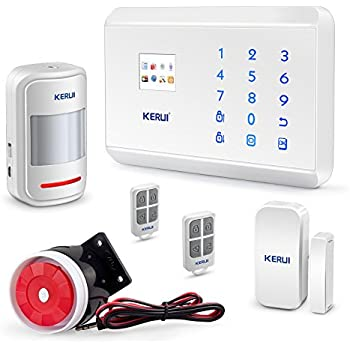 Amazon fuers wifi gsm security alarm wireless diy home and kerui gsm 3g pstn alarm system homehouse business smart security alert system diy kitauto dial ios android app control 8219g solutioingenieria Images