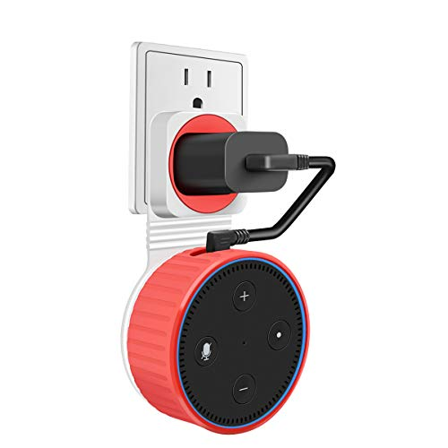 Magnetic Wall Mount Hanger Holder Stand for 2nd Generation, A Space-Saving Solution for Your Smart Home Speakers Without Messy Wires or Screws,Short Charging Cable Included ()