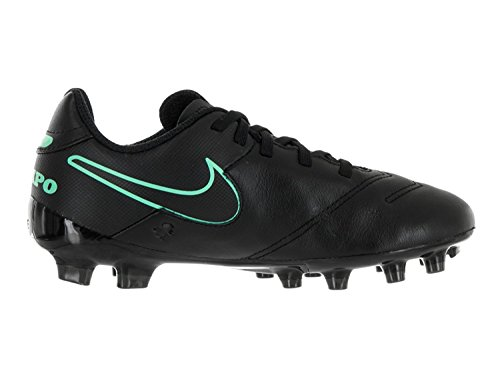 Nike Kid's Jr. Tiempo Legend VI FG Soccer Cleat (1.5) Black
