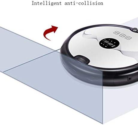 3 en1 Super-Thin Quiet 1800PA High Power Robot aspirateur avec une lumière ultraviolette anti-chute Collision capteur auto-synchronisation de charge