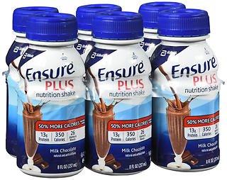 Ensure Plus Creamy Milk Chocolate Shake, 24 - 8 oz, Pack of 2 by Ensure