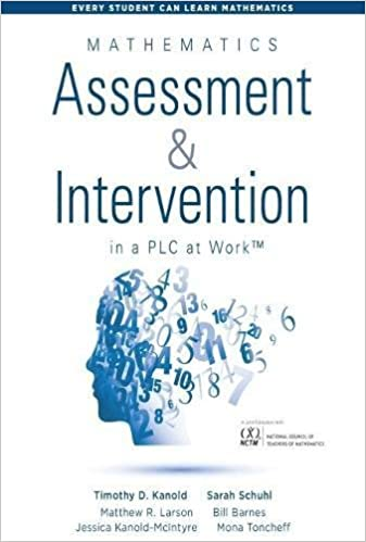Mathematics Assessment and Intervention in a PLC at WorkTM (Research ...