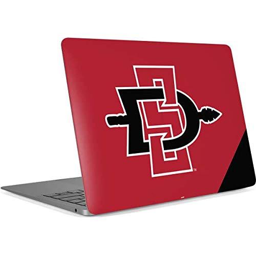 Skinit SDSU Logo MacBook Air (2018) Skin - Officially Licensed Learfield Collegiate Laptop Decal - Ultra Thin, Lightweight Vinyl Decal - Air Collegiate