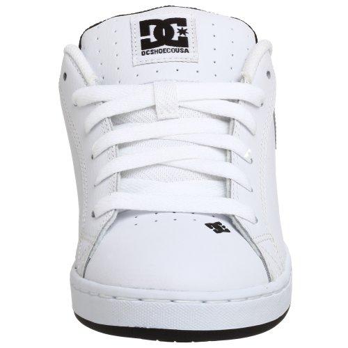 Silver metallic White Court Graffik Sneaker Dc black Uomo Shoes Shoe pfW8zq