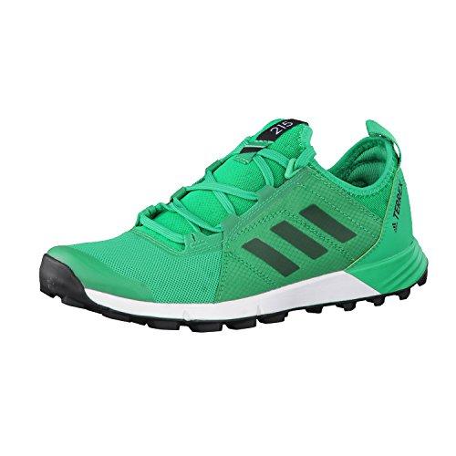 adidas Terrex Agravic Speed W, Botas de Montaña para Mujer Verde (Verde Verbas/verbas/negbas)